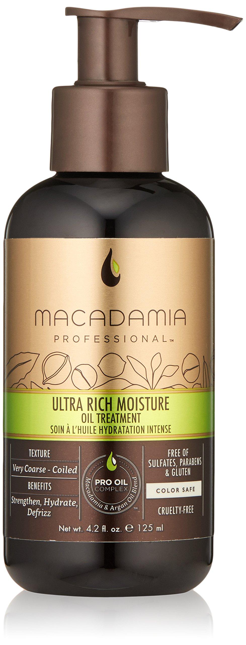 Macadamia Hair Ultra Rich Moisture Oil Treatment - 4.2 oz