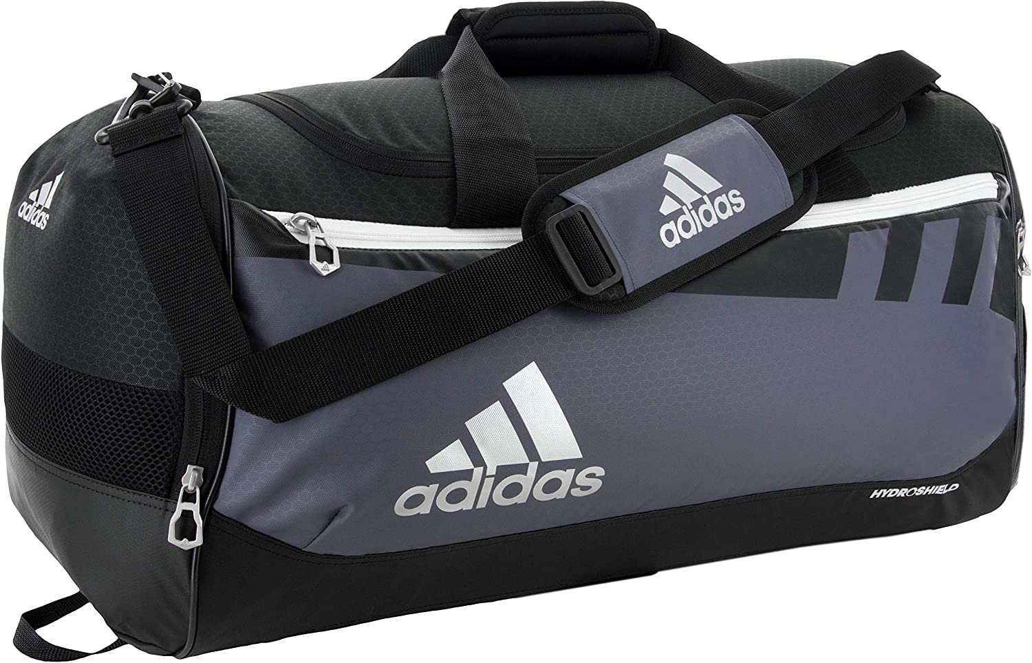 adidas Unisex Team Issue Medium Duffel Bag, Onix, ONE SIZE