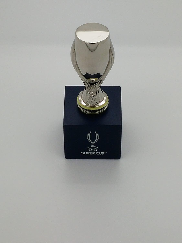 UEFA Super Cup Coppa Trophy 45/mm piedistallo in legno Wooden