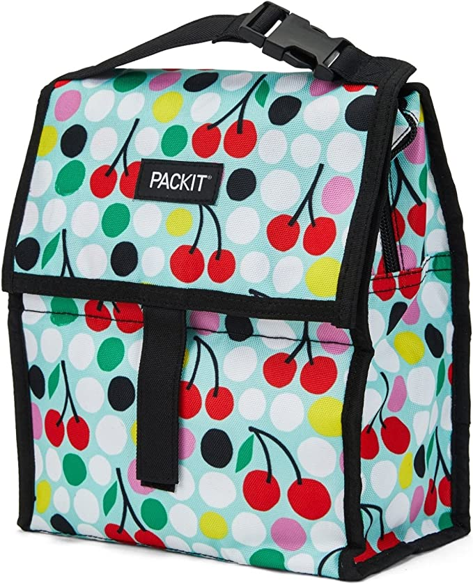 PACKIT PKT-PC-CHD Nevera Portátil, tela, multicolor (cherry dots): Amazon.es: Hogar
