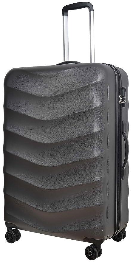 204f7aa618fa Tesco Champagne 8 Wheel Large Hard Shell 81L Suitcase - Charcoal  Amazon.co. uk  Kitchen   Home
