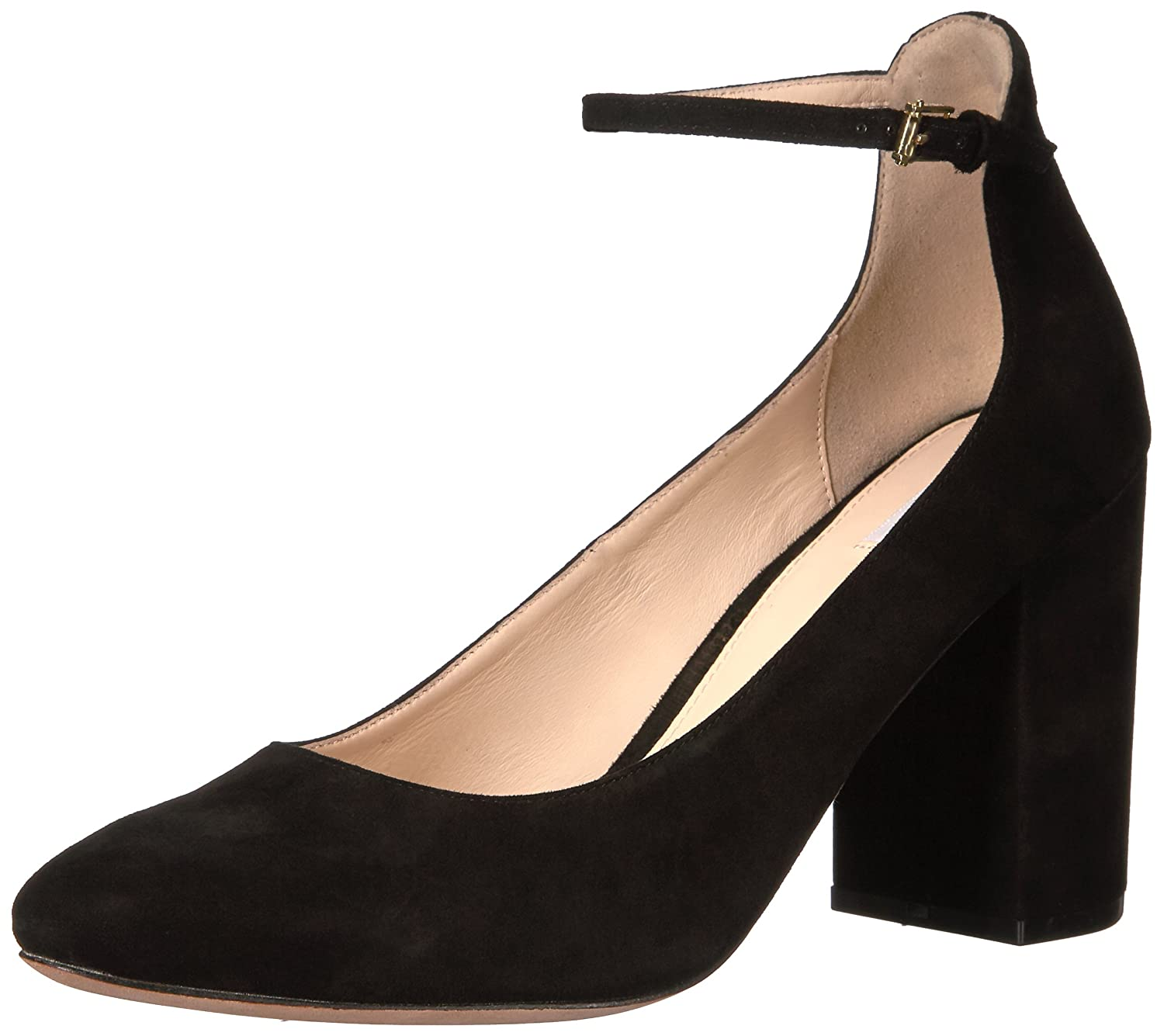 Cole Haan Women's Larue Grand Pump 85MM B06W9NWQ1B 6 B(M) US|Black Suede