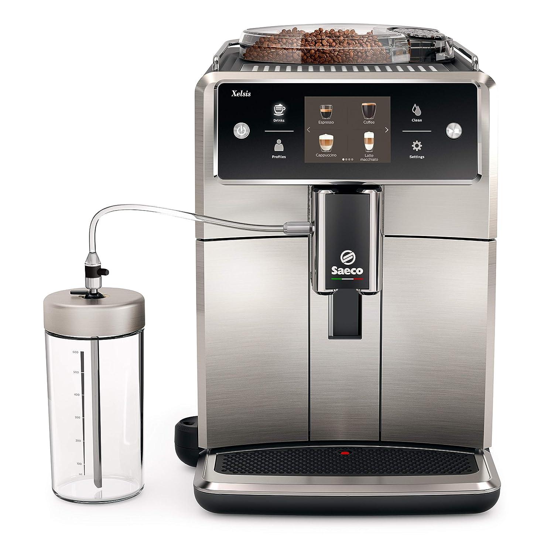 SAECO Xelsis SM7683/10 - Cafetera de espresso súper automática con ...