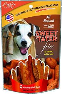 product image for Carolina Prime Pet 45031 Sweet Tater Fries Treat For Dogs ( 1 Pouch), One Size,Brown