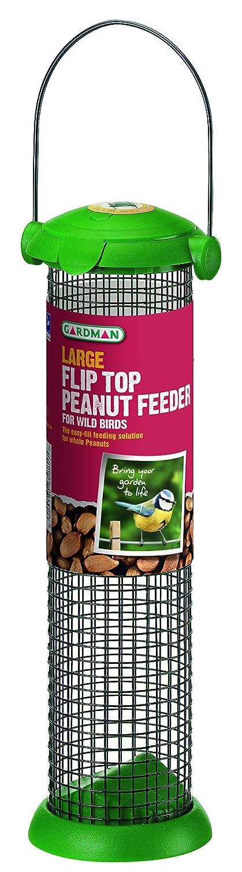 Gardman A01232 Futtersäule Kunststoff gr. Ausführung für Erdnüsse