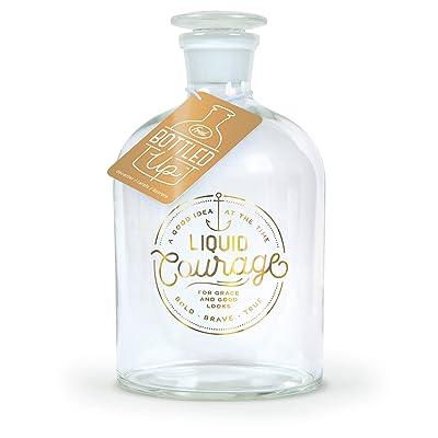 Fred BOTTLED UP Glass Spirits Decanter