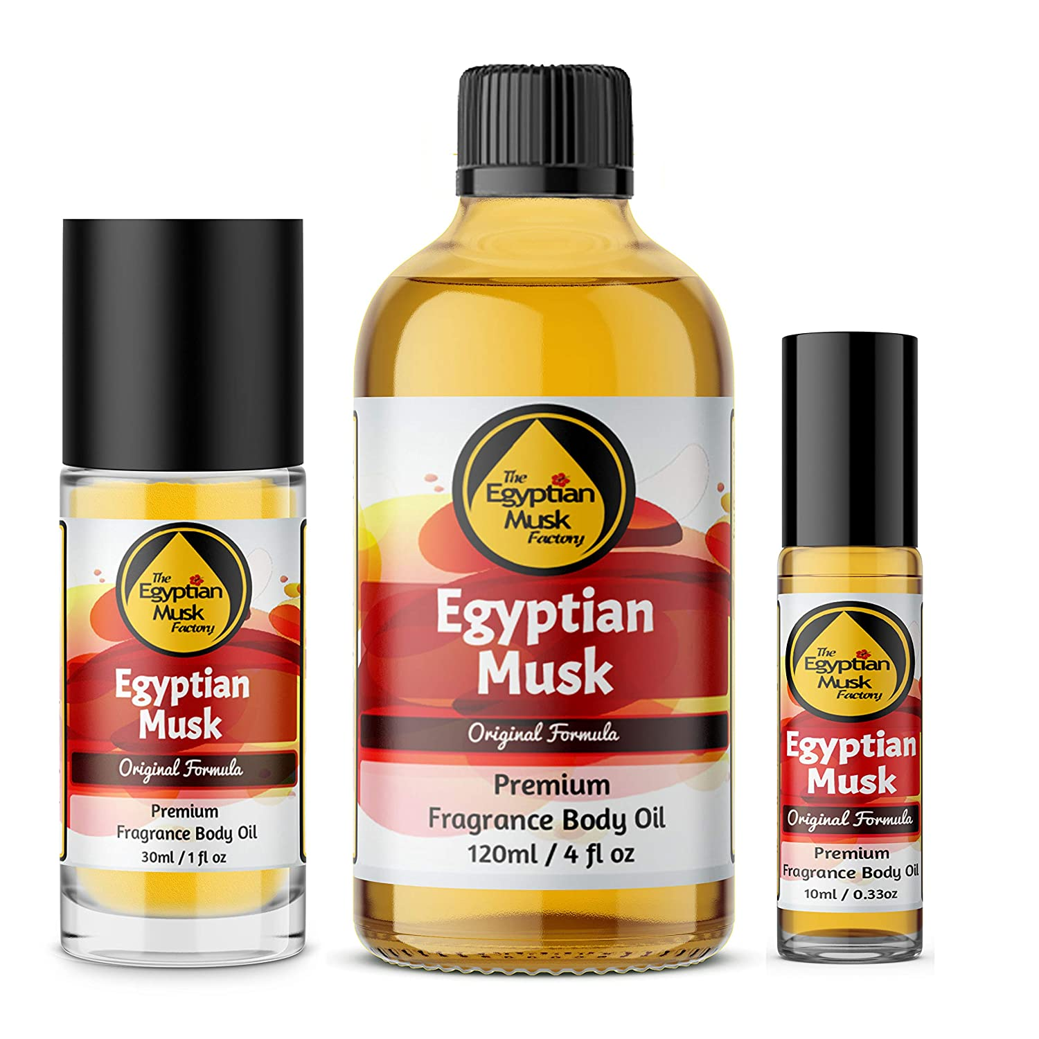 Egyptian Musk Oil, Choose from Roll On to 1oz - 4oz Glass Bottle, by WagsMarket - The Egyptian Musk Factory™ (4oz Glass Bottle)