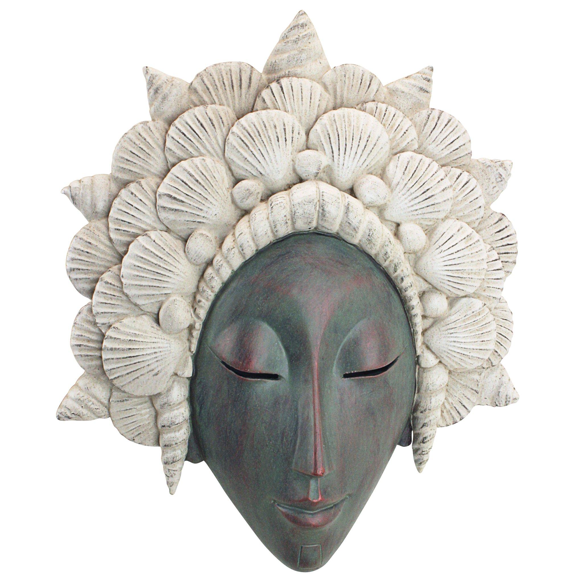 Design Toscano The The Seashell Maiden Mermaid Wall