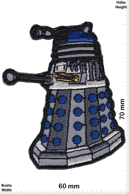 Patch Dr Kampfroboter- Dalek Dr Who Who - Movie Iron On Movie zum aufb/ügeln Aufn/äher
