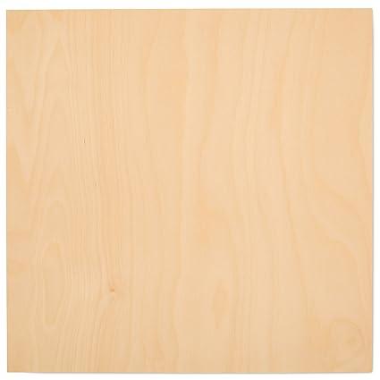 amazon com 3 mm 1 8 x 12 x 12 premium baltic birch plywood box