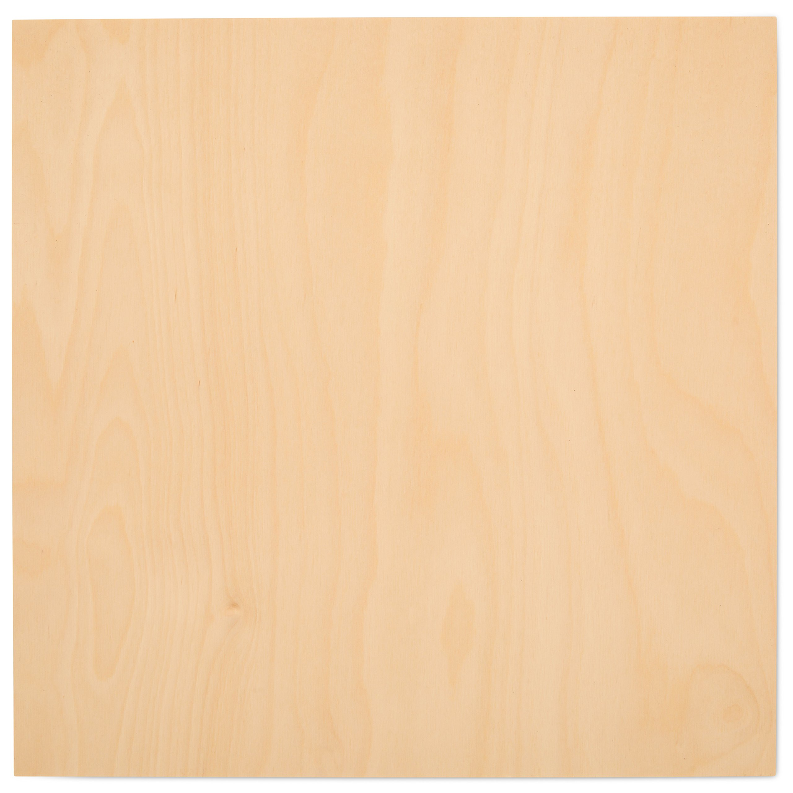 3 mm 1/8''x 12''x 12'' Premium Baltic Birch Plywood B/BB Grade - 8 Flat Sheets By Woodpeckers
