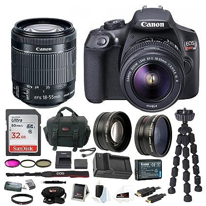 Amazon.com : Canon EOS Rebel T6 Digital Camera: 18 Megapixel 1080p ...