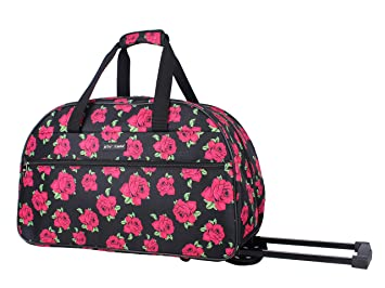 Amazon.com: Betsey Johnson Designer Carry On Luggage ...