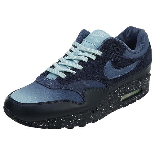 d834a579ea NIKE Men's Air Max 1 Premium, Obsidian/Diffused Blue, 8.5 UK: Amazon.co.uk:  Shoes & Bags