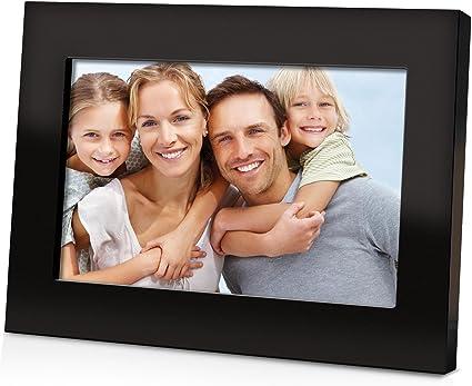 Coby Dp700 Blk Digitaler Bilderrahmen 7 Zoll Schwarz Kamera