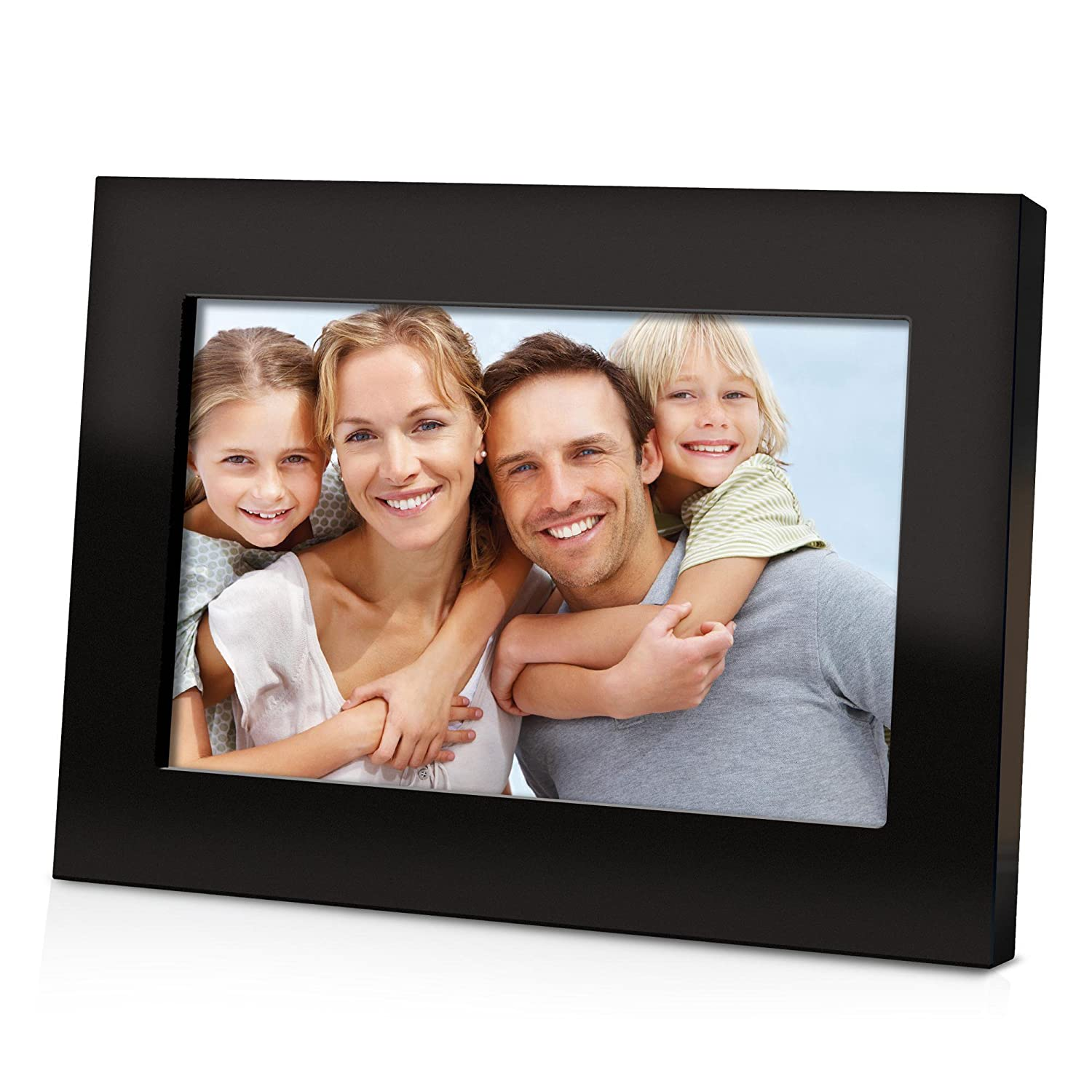 Amazon.com : Coby DP700BLK 7-Inch Digital Picture Frame -Black ...