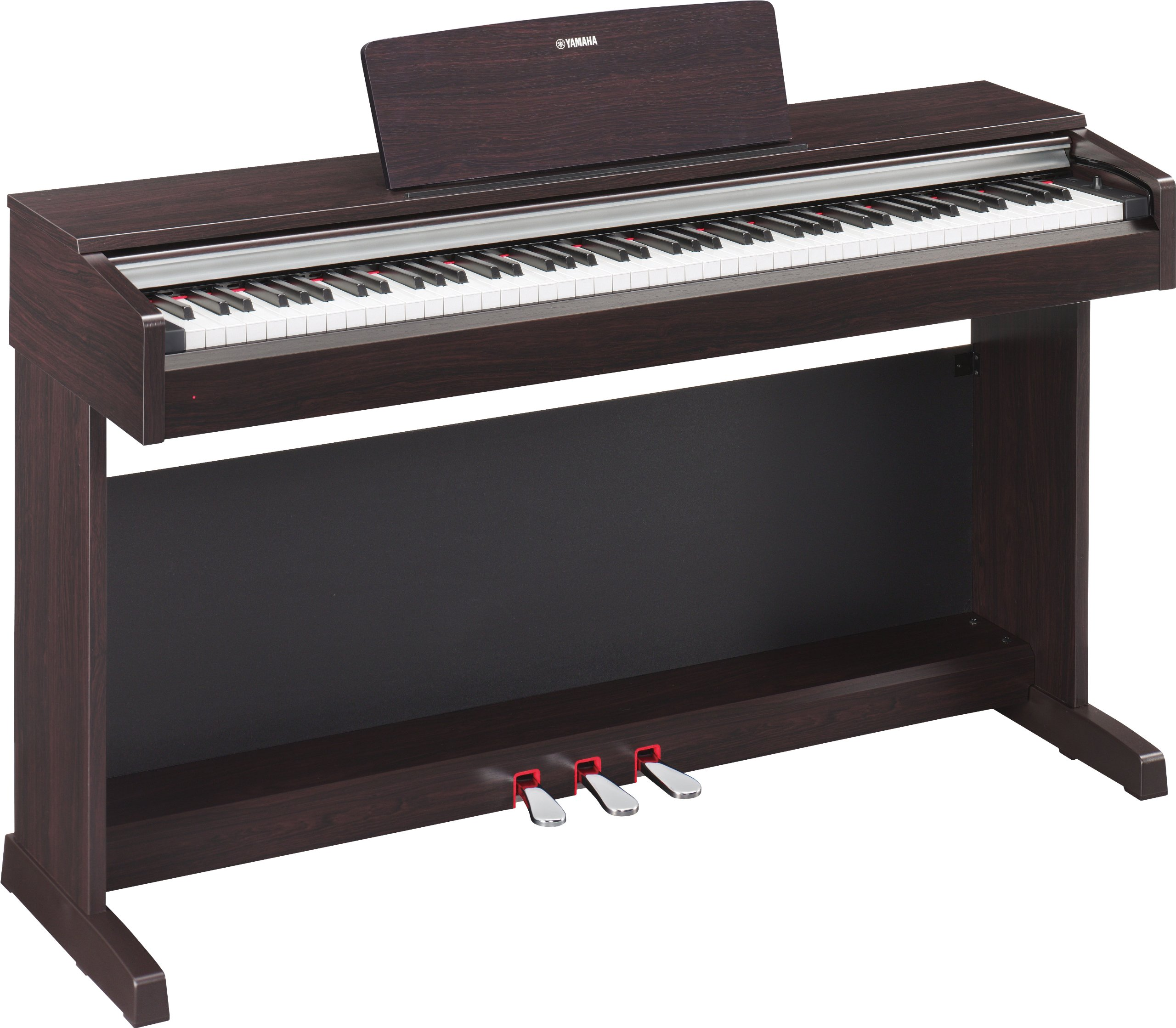 Yamaha YDP142R Arius Series Traditional Console Digital Piano with Bench, Rosewood (OLD MODEL) by YAMAHA