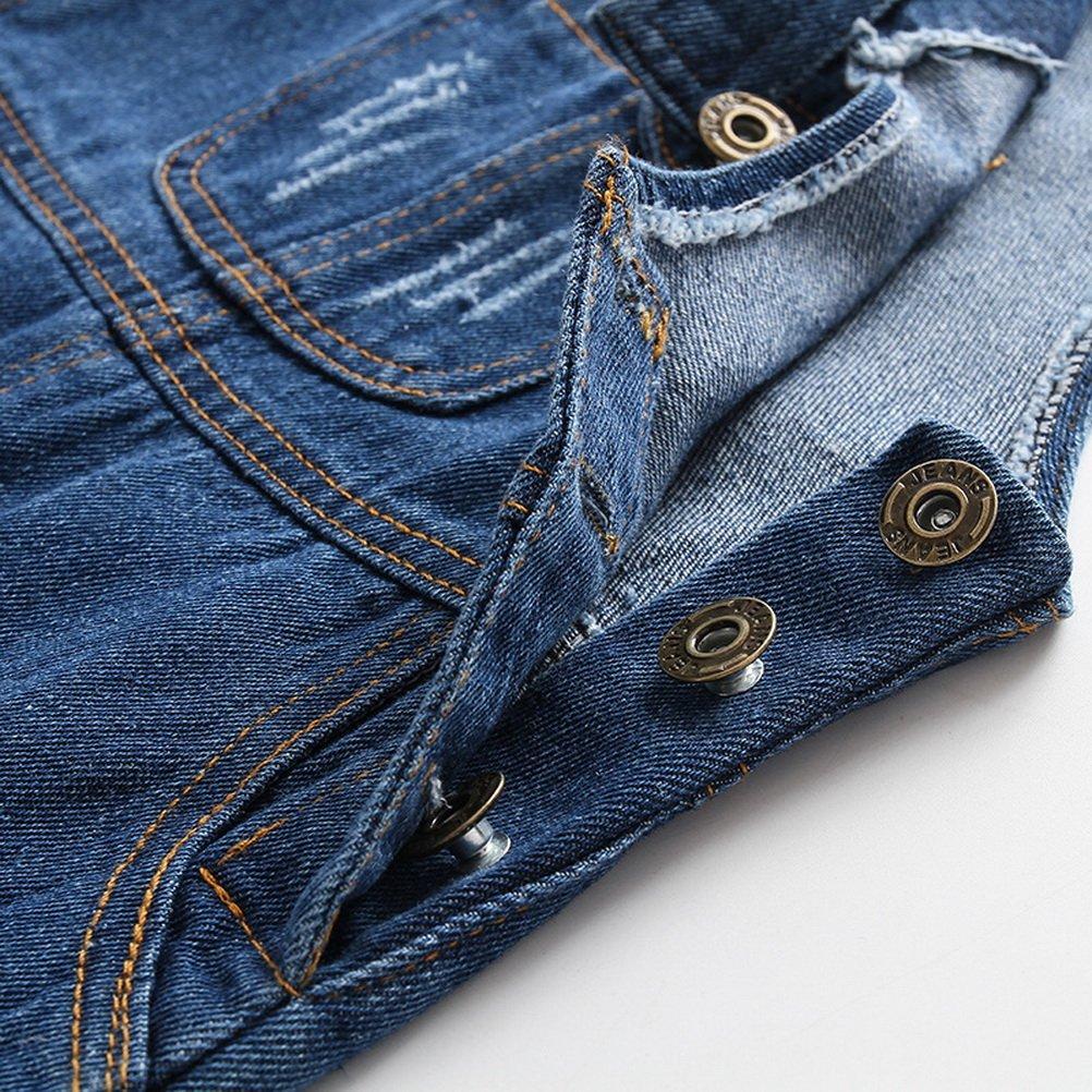 ARAUS Pichi Pantalones de Petos Ni/ños Ni/ñas Vaquero Estilo Lindo Moda Primavera Verano