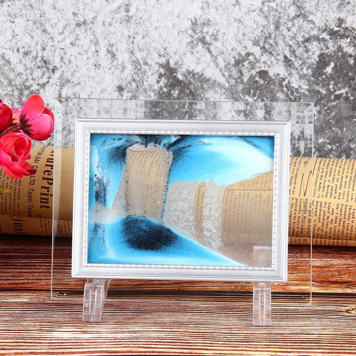 Amazon.de: Aolvo Sand Art Bilder beweglichen 3D Dynamic Vision ...