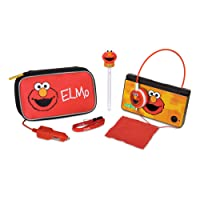 dreamGEAR Elmo Travel Kit for DS Lite, DSi & DSi XL - cajas de video juegos y accesorios (DSi & DSi XL, Verde, Rojo, Amarillo, 450 g, 203.2 x 234.9 x 76.2 mm)