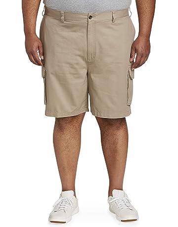 0f39695871 Amazon Essentials Men's Big & Tall Cargo Short fit ...