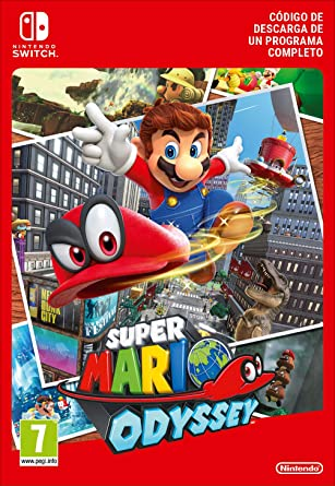Super Mario Odyssey | Nintendo Switch - Código de descarga: Amazon ...