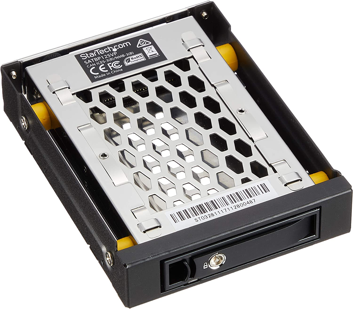 Bahia Frontal 3.5 Hot Swap para 2.5 SSD/SATA HDD Caddy