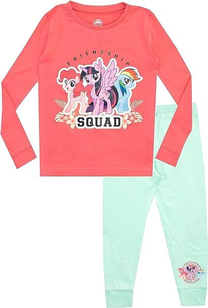 My Little Pony Pijamas de Manga Larga para niñas Pequeño Pony Ajuste Ceñido Rosa 2-3 Años: Amazon.es: Ropa y accesorios