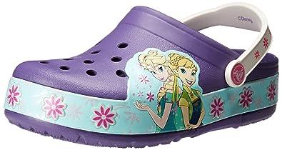 89a1425df7d crocs Frozen Fever Light-Up Clog (Toddler Little Kid)