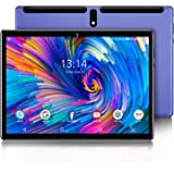 Tablet 10 inch Android 9.0, 1280x800 HD Touchscreen,4G+64GB Storage, with Wireless Keyboard Case Case, Type-C,BT4.2,WiFi…