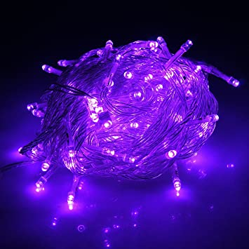 HDE Linkable LED String Lights Holiday Home Fairy Multifunction Wedding  College Dorm Room Craft Decoration Expandable Part 80