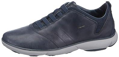 Geox U Nebula B Buffalo Mens Leather Slip On SneakersShoes
