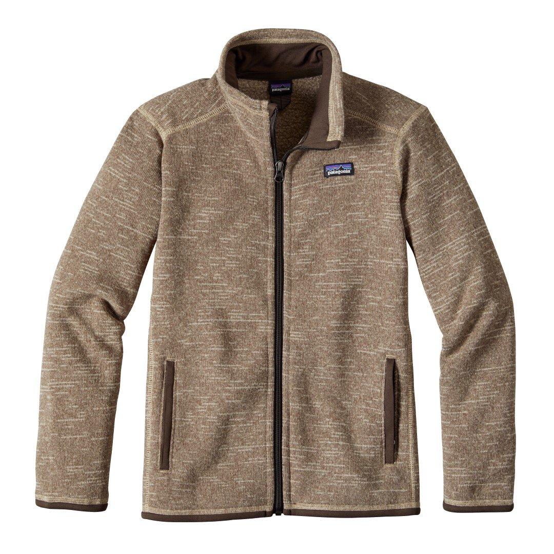 Patagonia Boys' Better Sweater Jacket (XL, Pale Khaki) by Patagonia