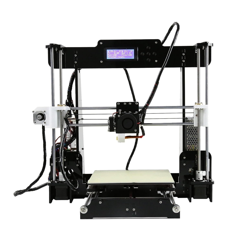 3D Printer Anet A8 with Black Frame printing size 220mm220mm240mm Precision  Reprap Prusa i3 DIY Kits