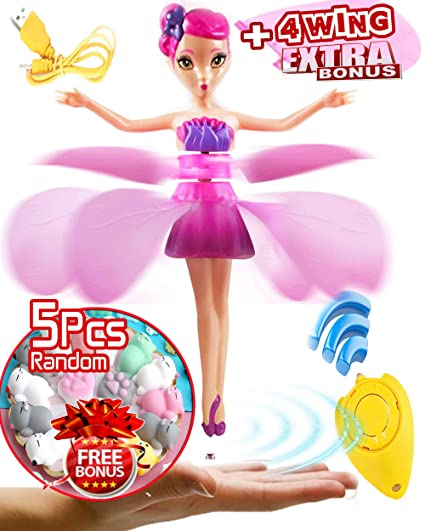 Amazoncom Akargol Flying Fairy Doll Magic And Best Gift For 6