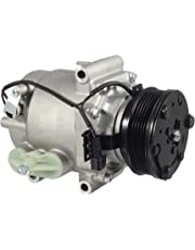 AUTEX AC Compressor and A/C Clutch CO 10715AC 15917601 Replacement for Saturn Vue 2004