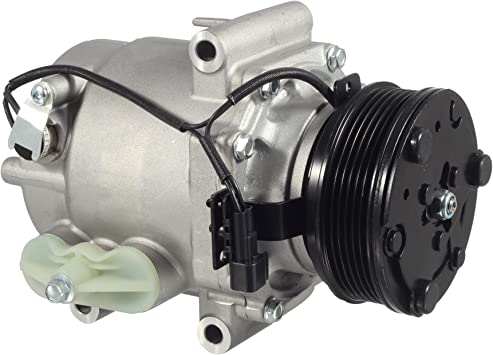 AUTEX AC Compressor and A//C Clutch CO 10715AC 15917601 Replacement for Saturn Vue 2004 2005 2006 2007 3.5L