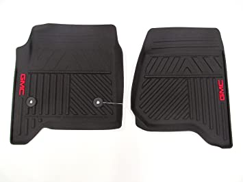 Amazon Com 2015 Gmc Sierra Premium All Weather Front Floor Mats