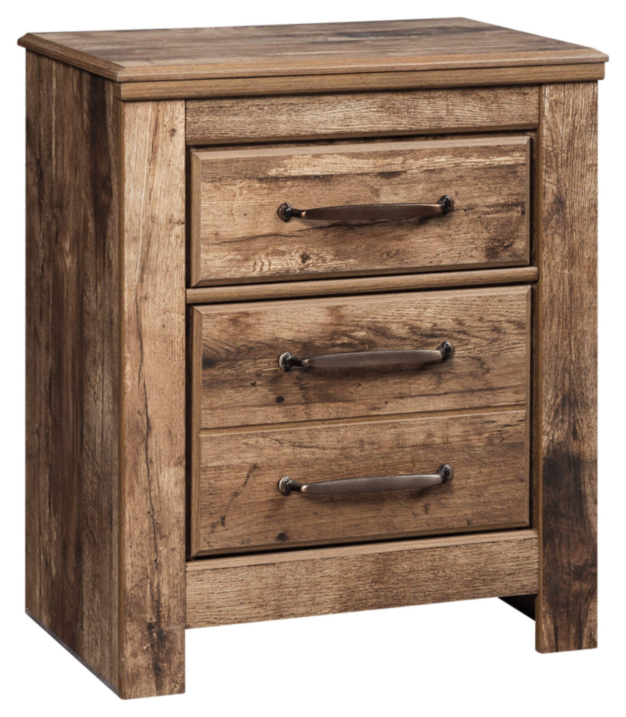 Signature Design by Ashley B224-92 Blaneville Nightstand, 15.91'' D x 24.21'' W x 29.23'' H, Brown