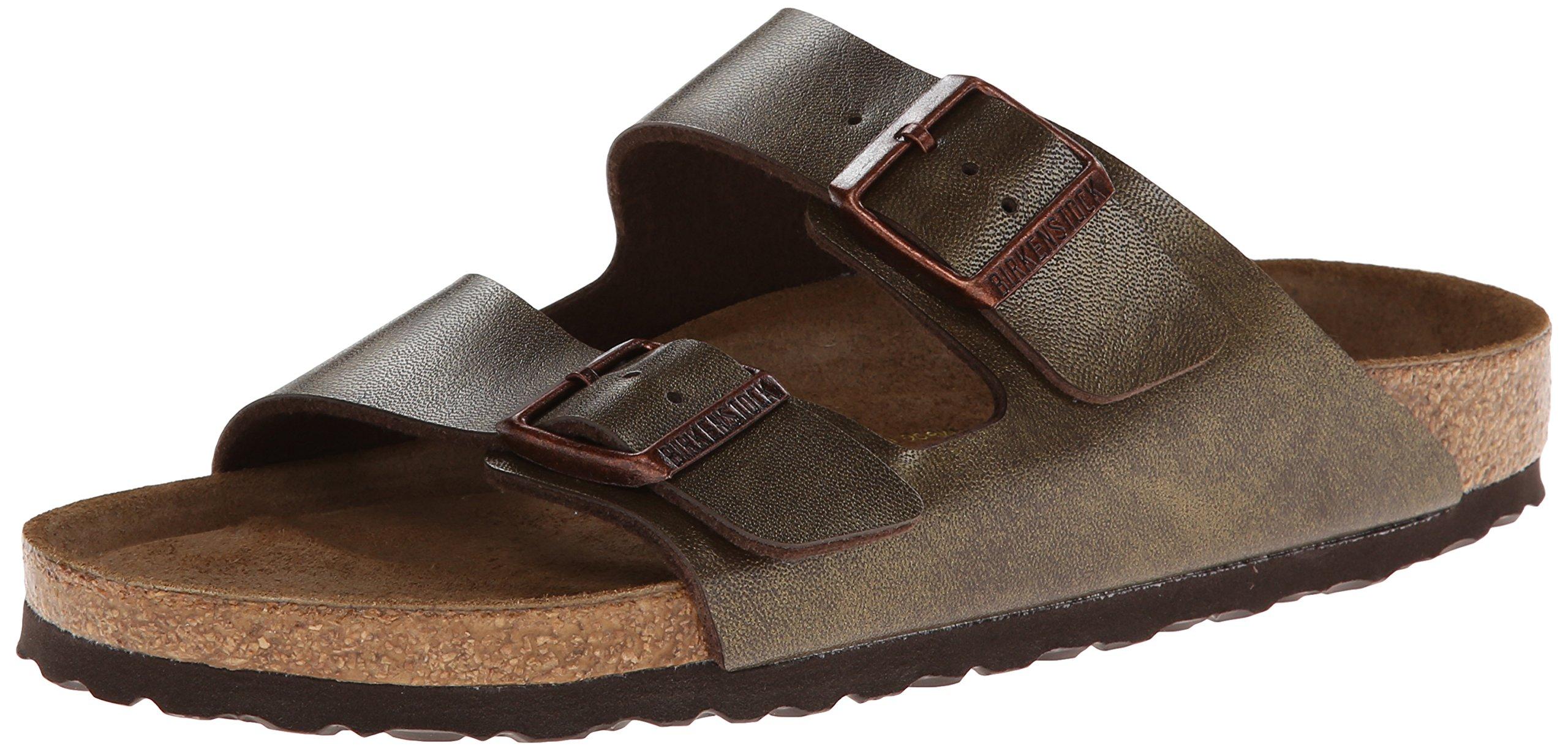 Birkenstock Unisex Arizona Golden Brown Sandals - 41 N EU/10-10.5 2A(N) US Women/8-8.5 2A(N) US Men