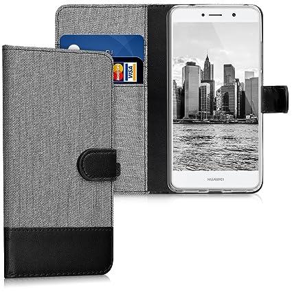 Amazon.com: kwmobile Wallet Case for Huawei Y7 / Y7 Prime ...