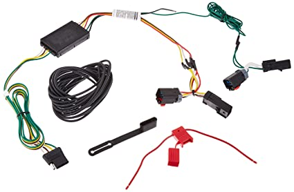 amazon com curt manufacturing curt 55597 custom wiring harness rh amazon com