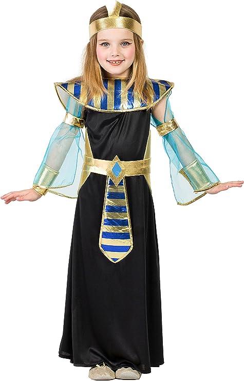 Disfraz Egipcia (3-4 AÑOS): Amazon.es: Juguetes y juegos