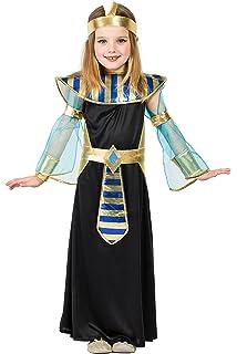 Atosa-23308 Disfraz Egipcia, color dorado, 3 a 4 años (23308 ...