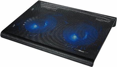 Trust Azul - Base de refrigeración para portátiles (Dos Ventiladores ...