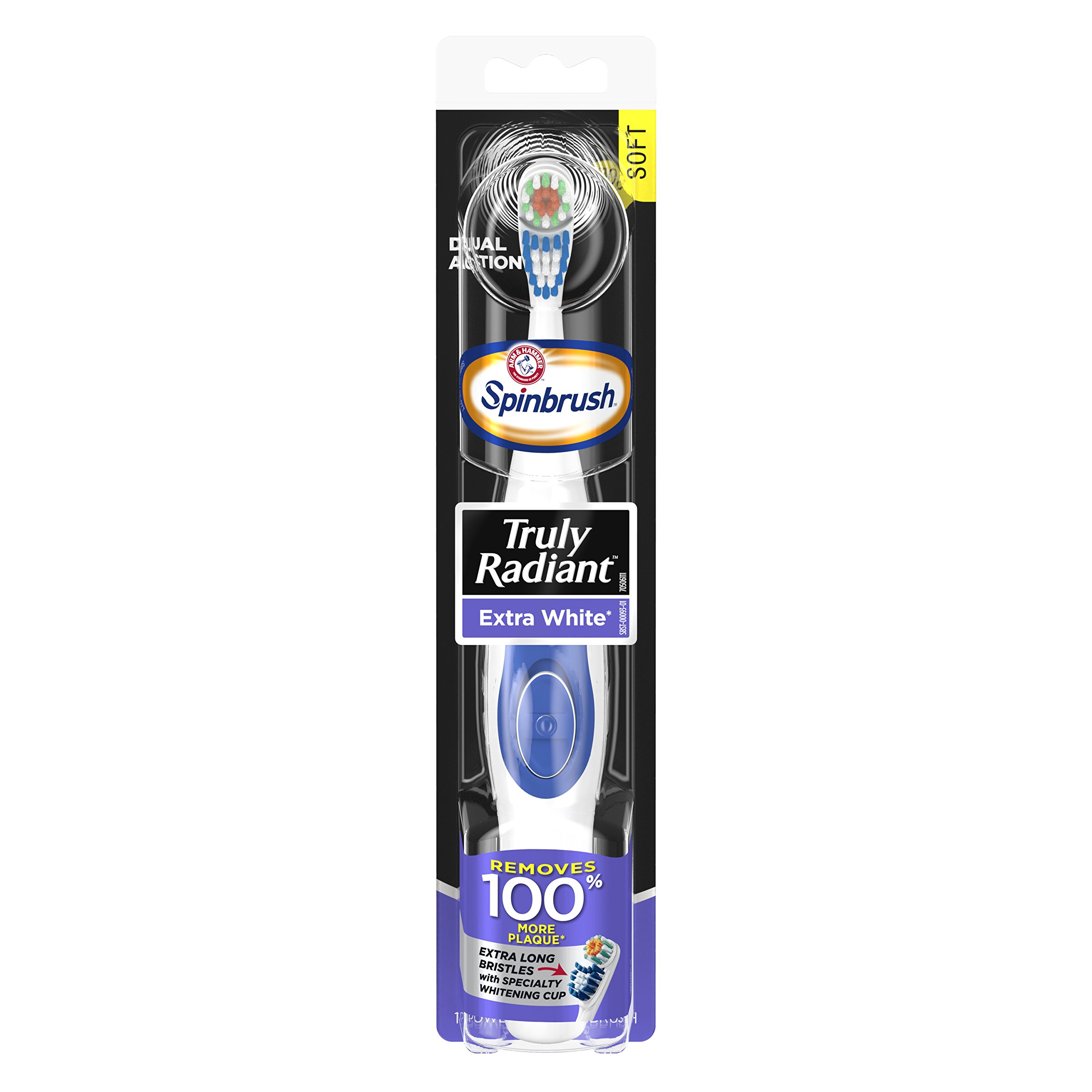 Spinbrush Truly Radiant Extra White Battery Toothbrush