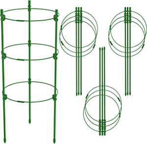Esteban Tomato Plant Support Cages for Garden, Support Stakes 18 in Pack of 4
