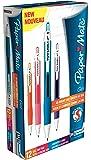 Paper Mate S0903250 - Bolígrafo de gel de punta de bola (punta de 0,7 mm, línea de 0,5 mm, 12 unidades), color multicolor