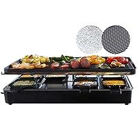 Elektrogrill silber XXL Electro Grill Balkon ✔ eckig ✔ tragbar ✔ Grillen mit Elektrogrill ✔ für den Tisch