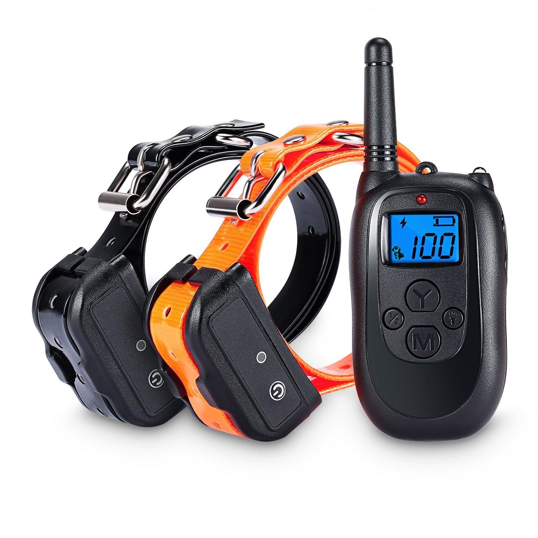 altman dog training collar 330 yard remote